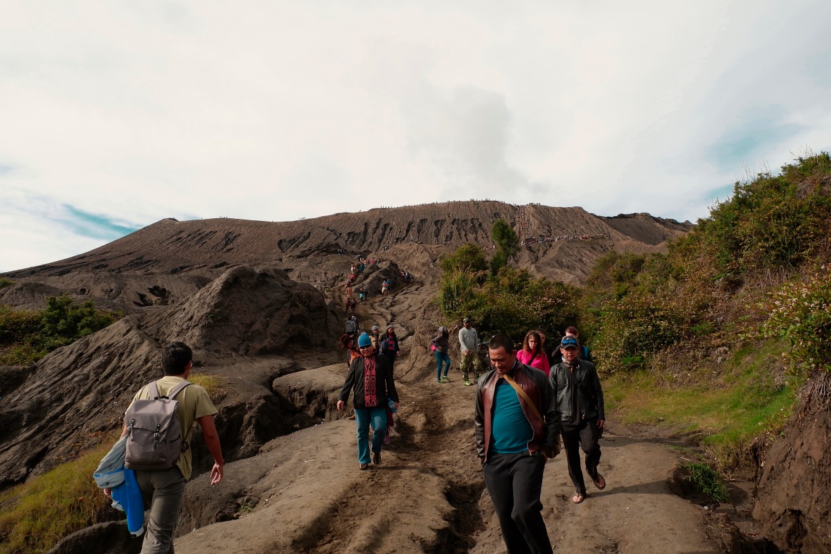 Mount Bromo and The Crater (English)